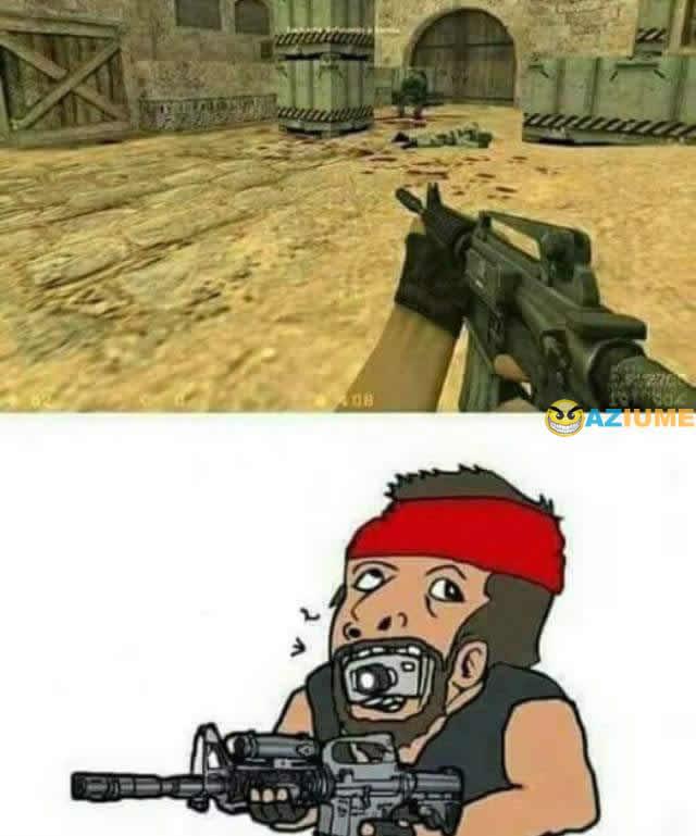 A realidade do Counter-Strike