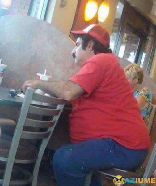 Mario Bros na vida real