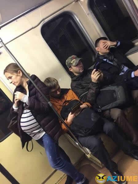 Apenas um dia no metro