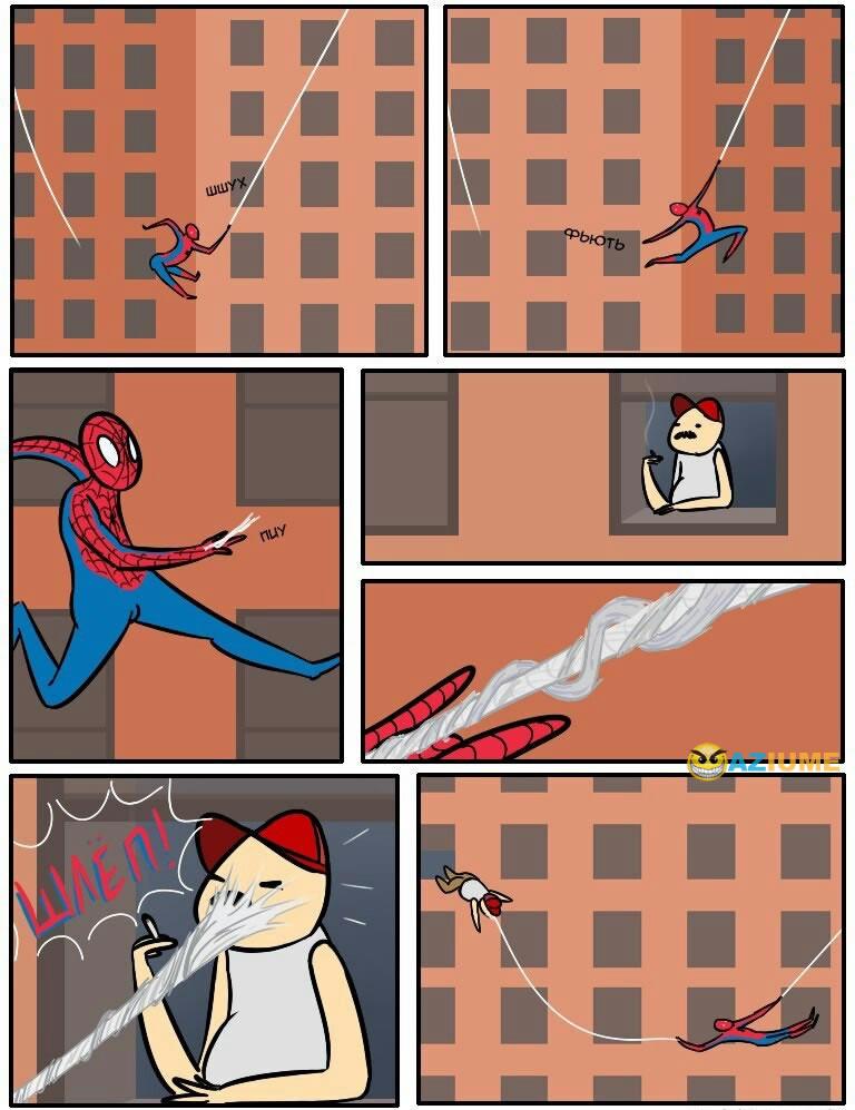 Apenas mais um dia do Homem aranha