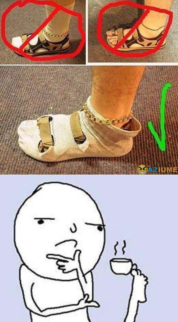 Aprenda como usar sandália com meia
