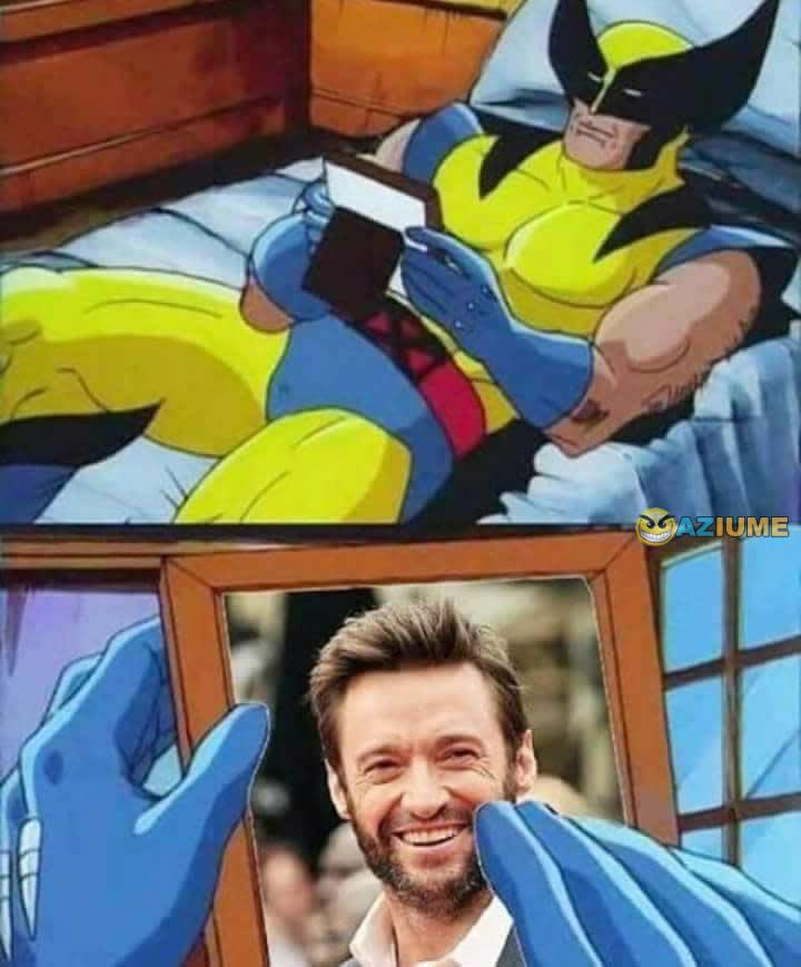 Quando o Wolverine fica com saudade do Hugh Jackman