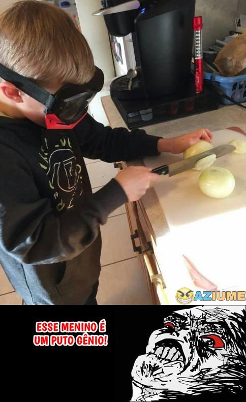 Como cortar cebola sem chorar