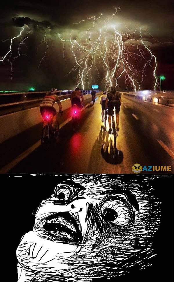 Teria coragem de andar de Bicicleta ae ?