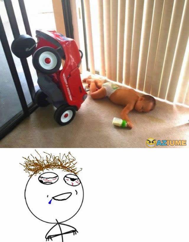 Acidente com bebê