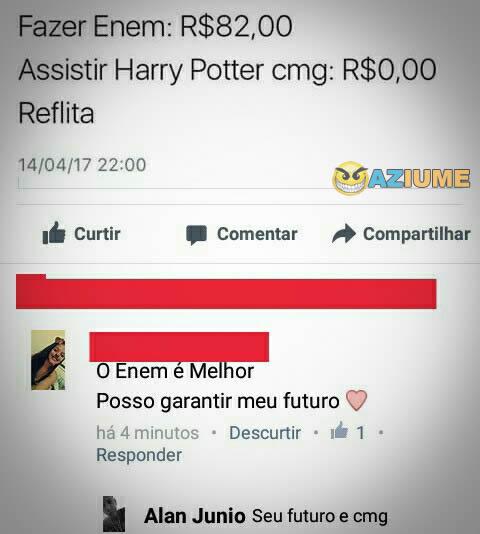 Cantada do Harry Potter