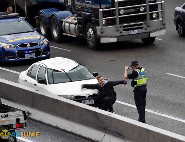 Primeiro acidente precisa ser registrado