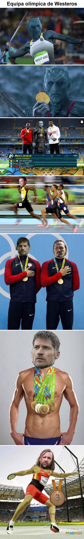 Equipa olímpica de Westeros