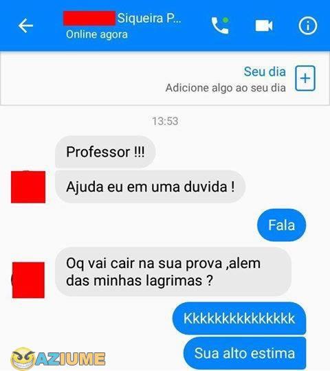 Professor sincero