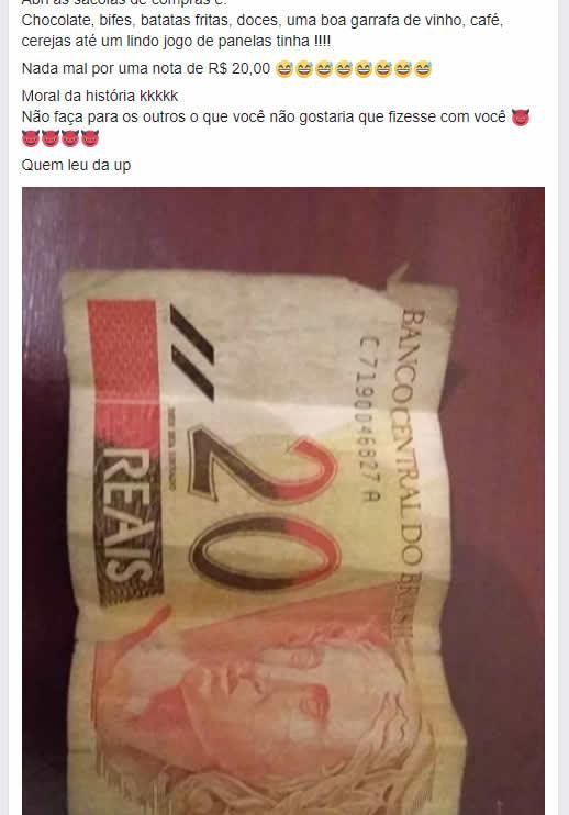 Como ganhei muita comida com apenas 20 reais