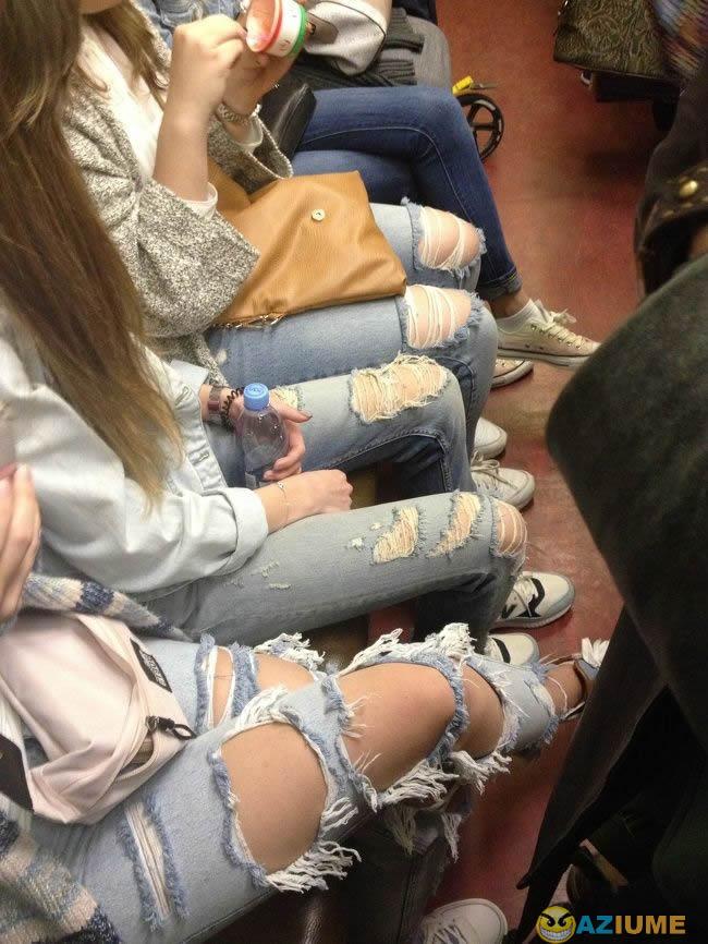 A evolução da moda
