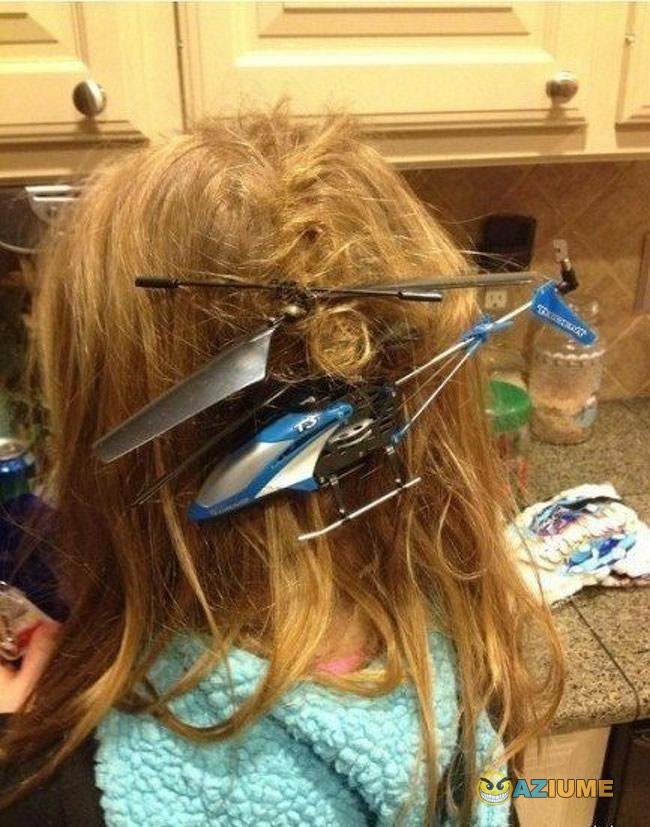 Você pode fugir do seu pai, mas não do helicóptero