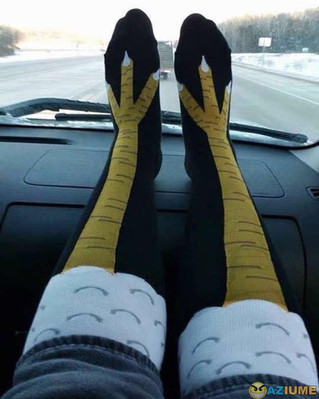 Essa meia é muito legal
