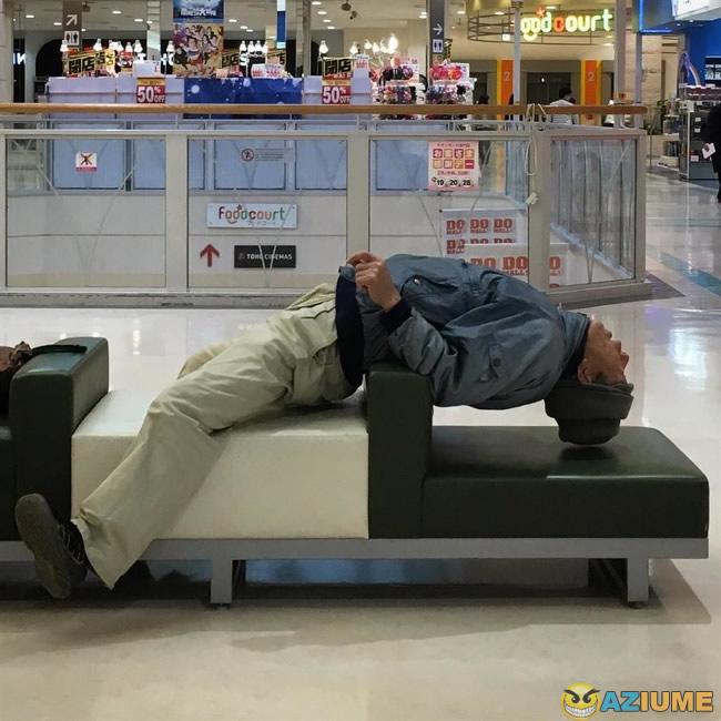Quando você resolve fazer yoga no shop