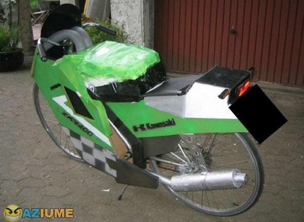 Vende se moto kawasaki totalmente customizada