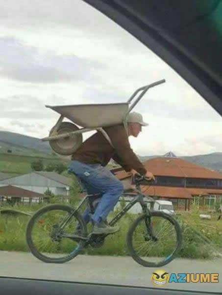 Aprenda como carregar uma carriola