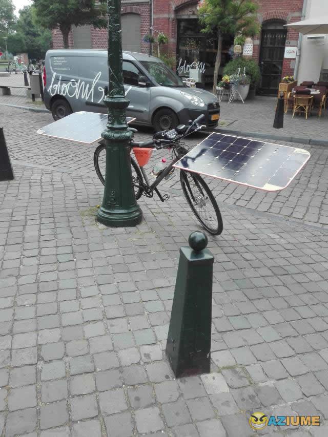 Novo modelo de bicicleta elétrica