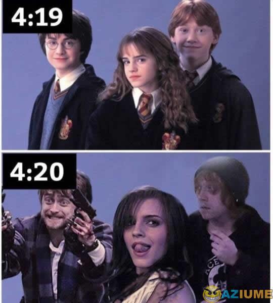 Harry Potter 4:20