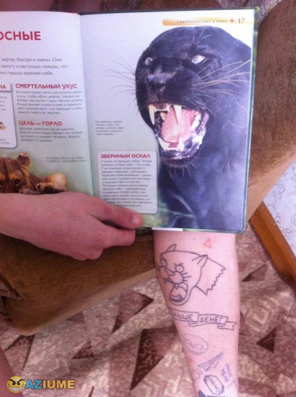 Aquela tatuagem de 10 reais