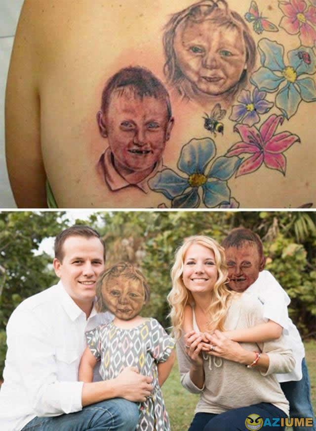Quando a tatuagem é muito realista