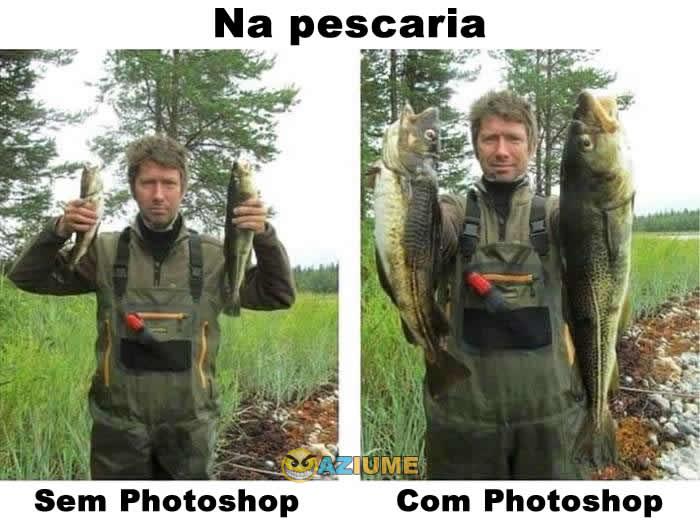 Enquanto isso na pescaria