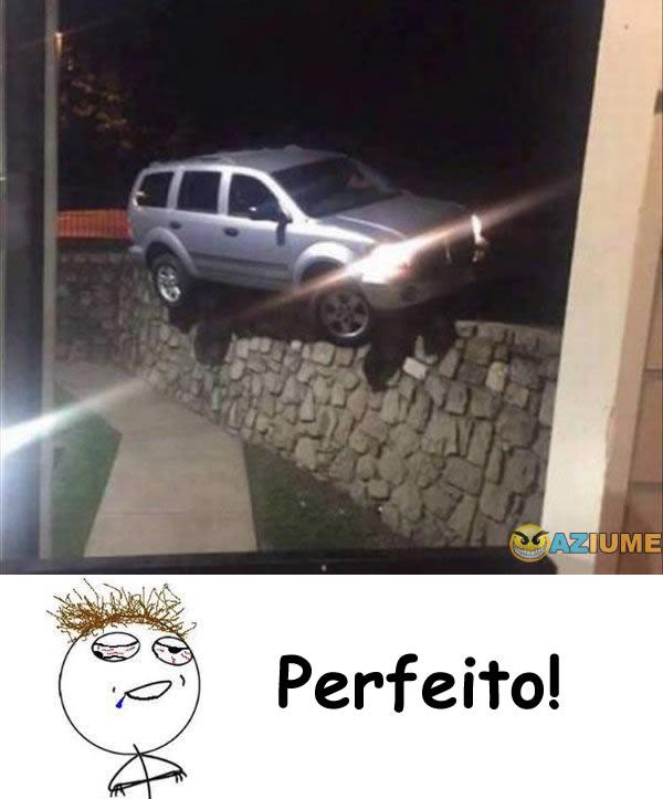 Quando eu estaciono o carro