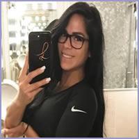 Michelle Lewin, a modelo sósia oficial de Bruna Marquezine