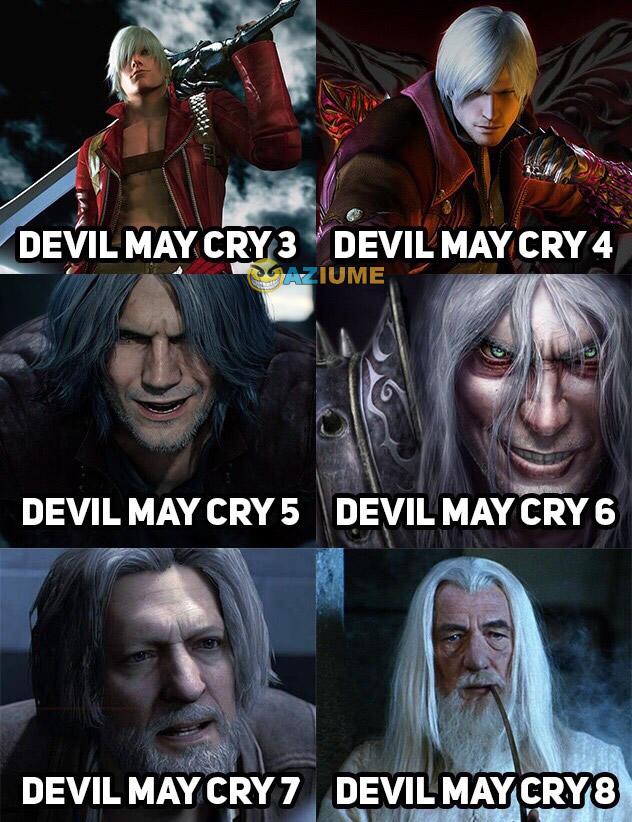 Evolução do Devil May Cry