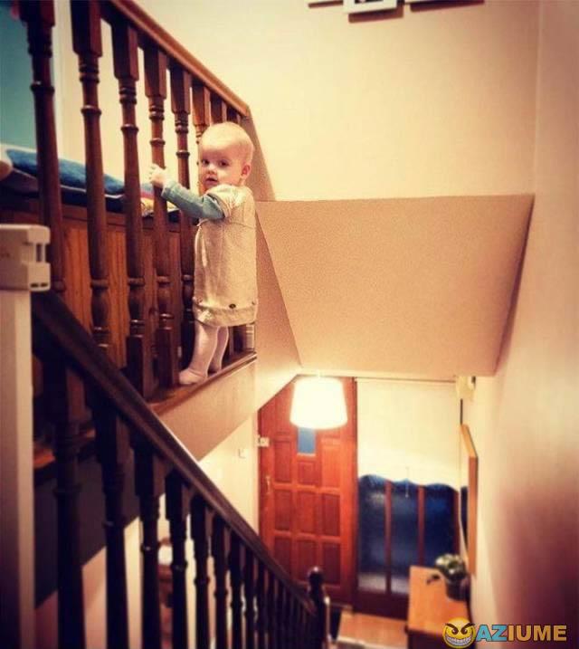 Quando o filho fica sozinho com o pai