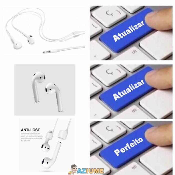 Atualização do fone de ouvido
