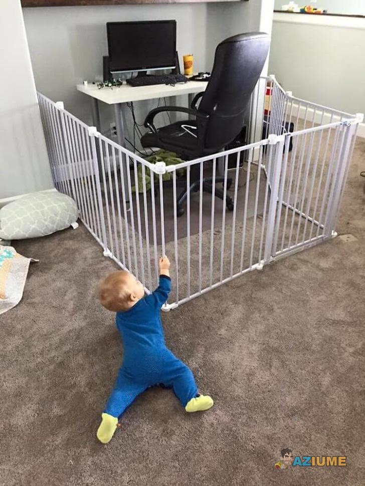 Quando você tem criança pequena em casa