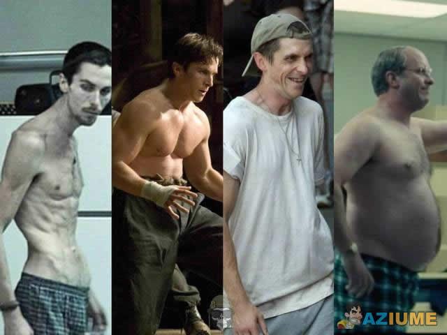 Evolução de Christian Bale
