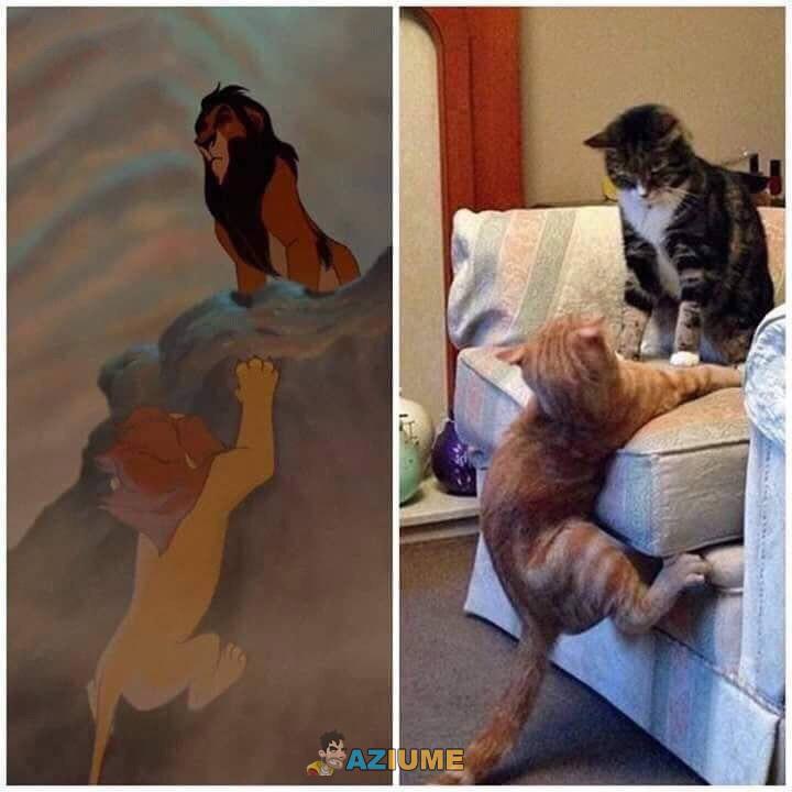 Vaza uma cena do novo Rei leão