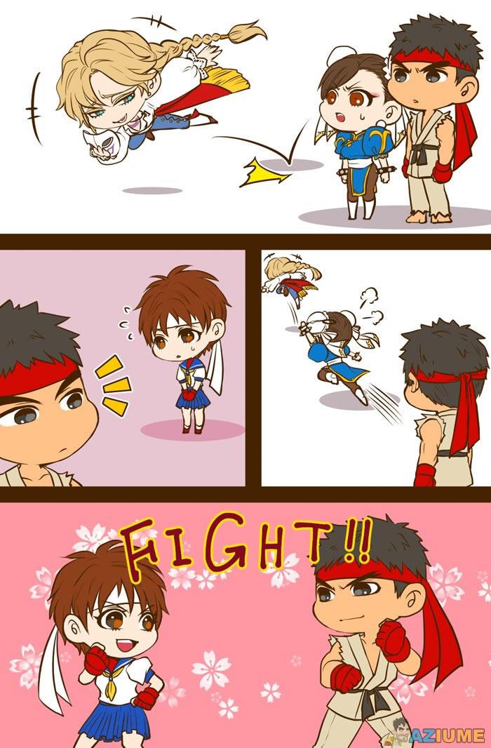 Ryu e Sakura uma história de amor