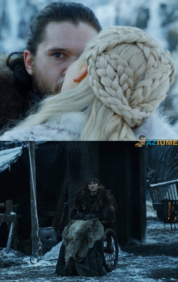 A verdade por traz do beijo do John no Game of thrones