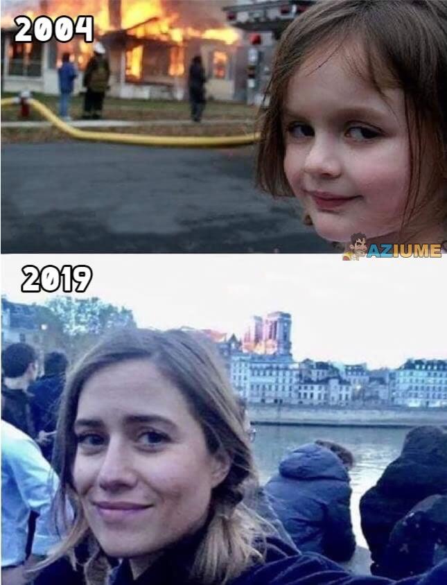 Como o tempo passa: Garota Desastre