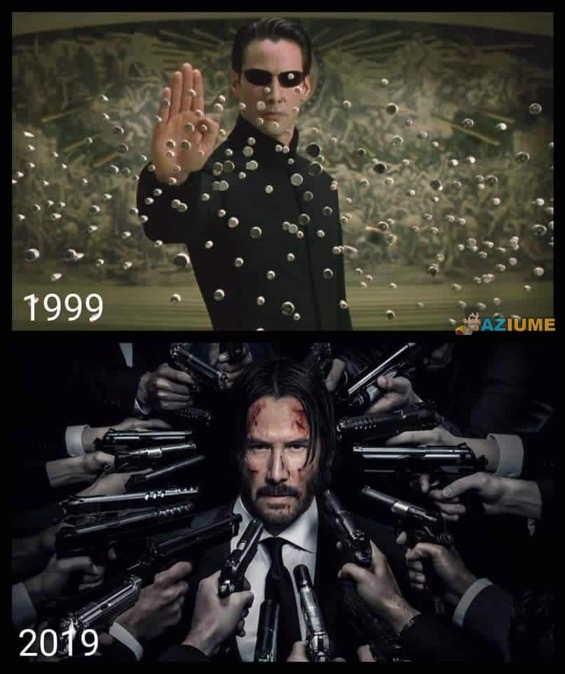 De Neo para John Wick