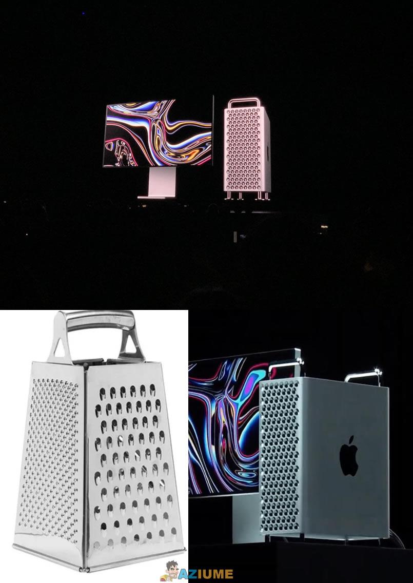 Peraí, a gente já viu o novo Mac Pro em algum lugar antes