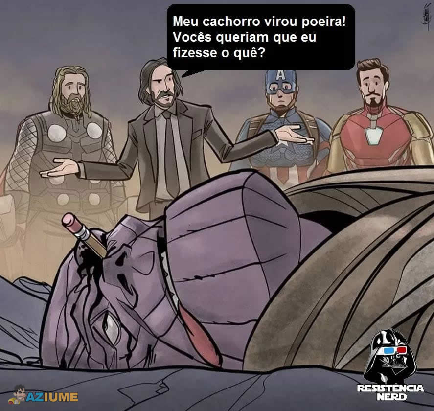 Thanos versus John Wick