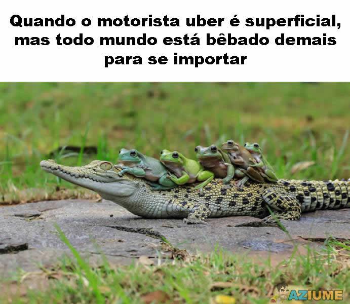 Motorista uber é superficial