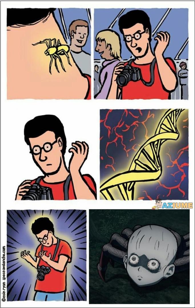 Em um mundo paralelo do Homem aranha