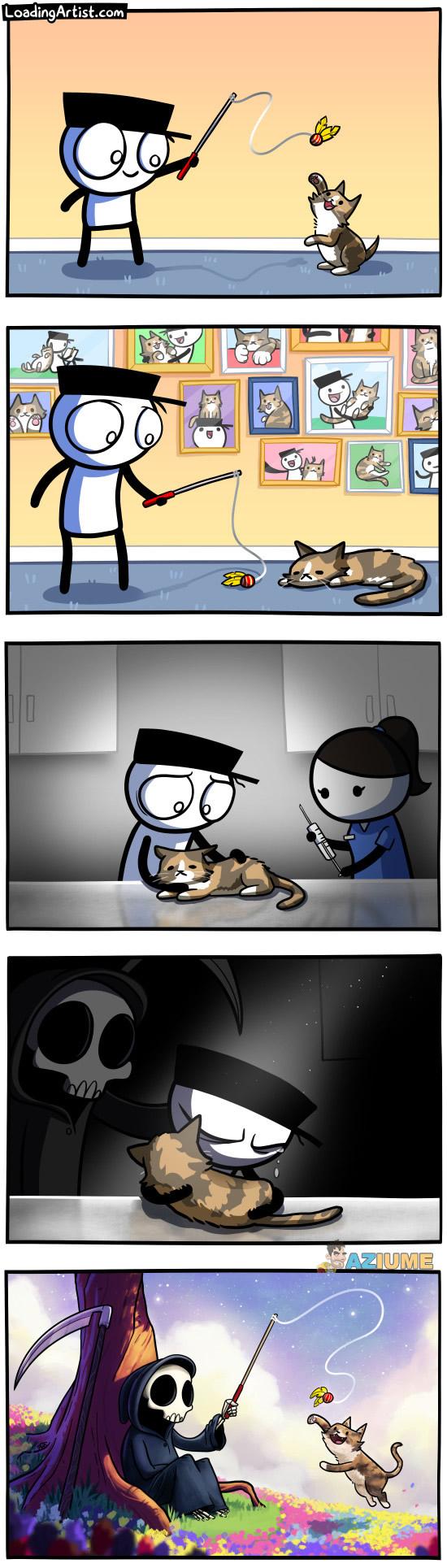 A morte do meu gatinho