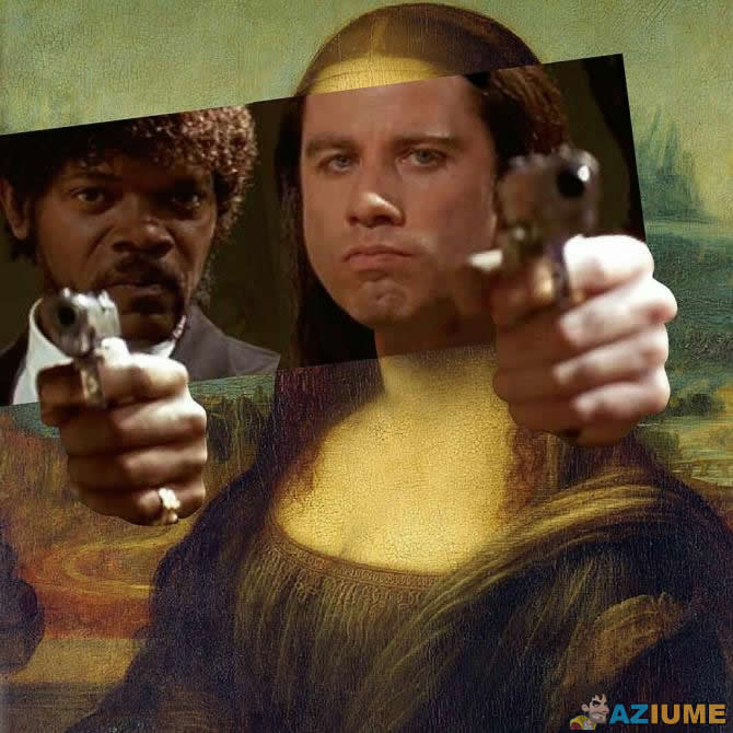 Nova Mona Lisa versão cinema