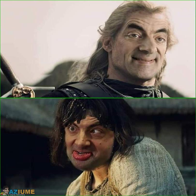 O bruxo versão Mr. Bean