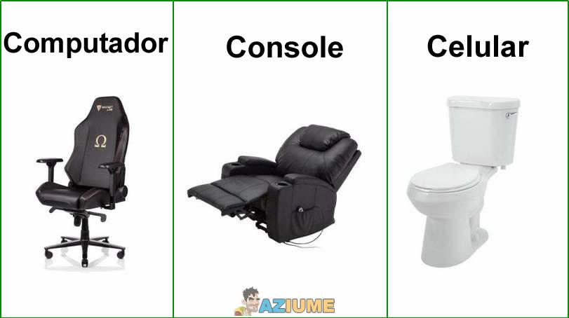 Cadeira dos jogadores