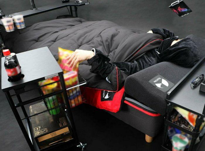 A nova cama gamer