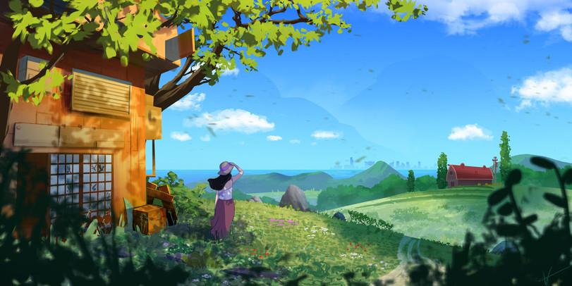 Belas paisagens feito por Vincent Gleizes