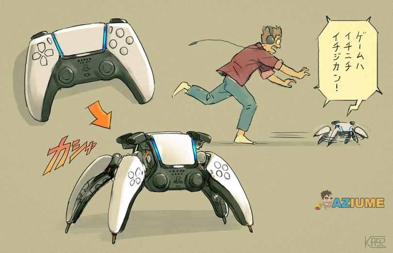 Agora faz sentido: Controle do Playstation