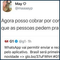 Nova função do WhatsApp