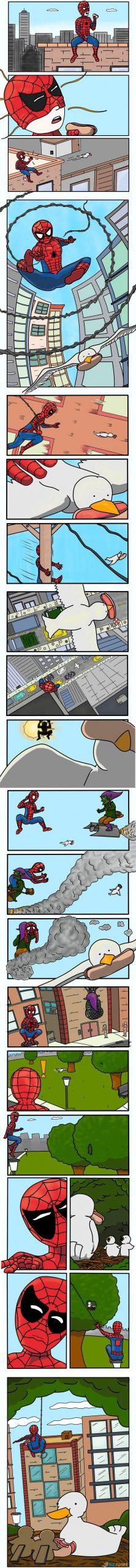 Homem-Aranha enfrenta um inimigo implacável!